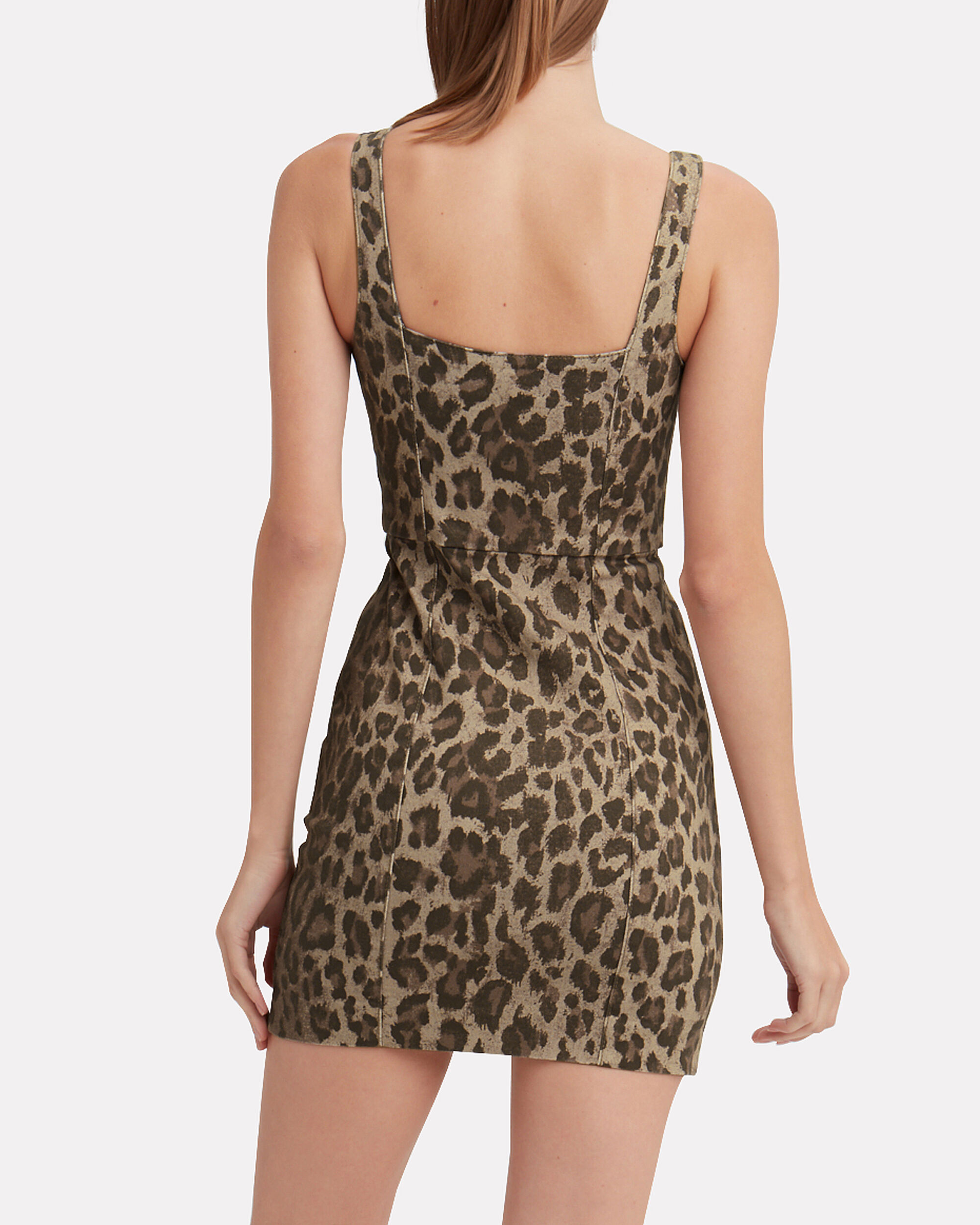 Leopard Mini Dress, LEOPARD, hi-res