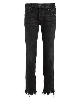 Staley Tapered Jeans, BLACK WASH DENIM, hi-res
