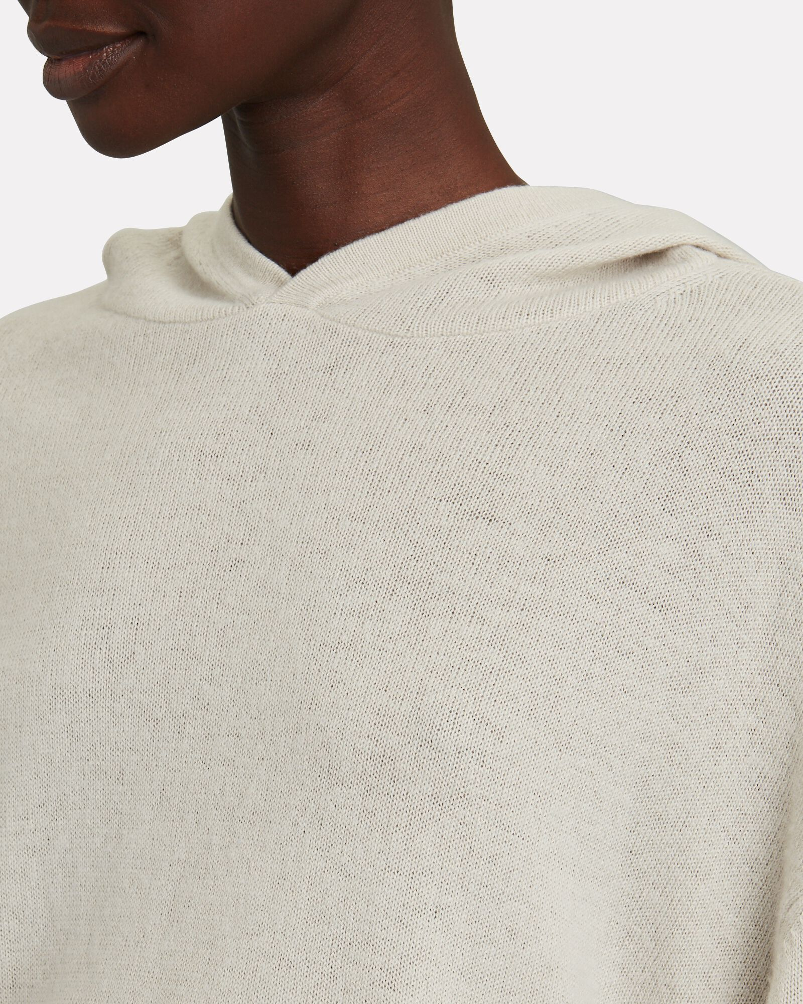 Tiago Hooded Cotton-Cashmere Sweater, GREY, hi-res