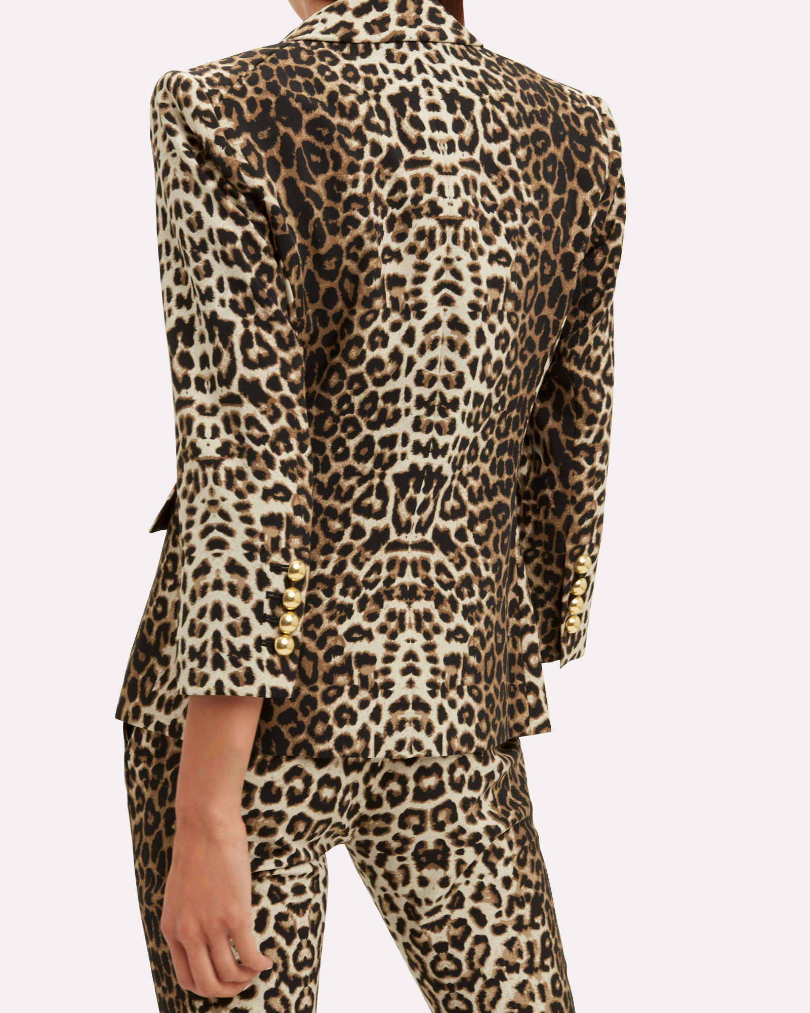 Leopard Empire Dickey Jacket, BROWN, hi-res