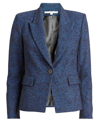 Melvin Glen Plaid Dickey Blazer, BLUE PLAID, hi-res