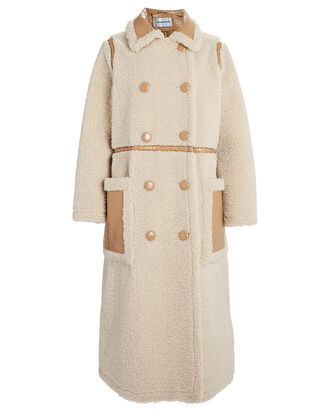 Morgan Faux Fur Reversible Coat, IVORY, hi-res