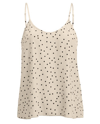 Silk Polka Dot Camisole, MULTI, hi-res