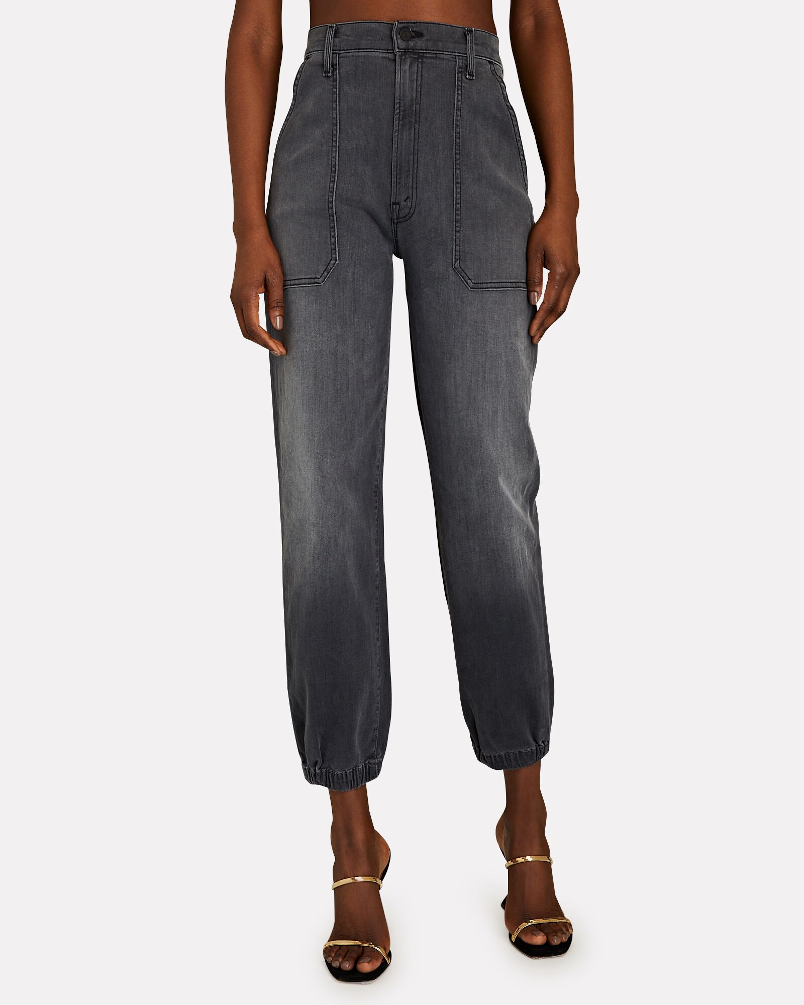 The Wrapper Patch Springy Ankle Jeans, DANCING IN THE MOONLIGHT, hi-res