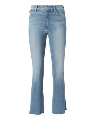 Phoebe Slit Hem Cropped Jeans, DENIM, hi-res
