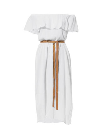 Nomad Florence Off Shoulder Dress, WHITE, hi-res