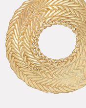 Colette Textured Hoops, GOLD, hi-res