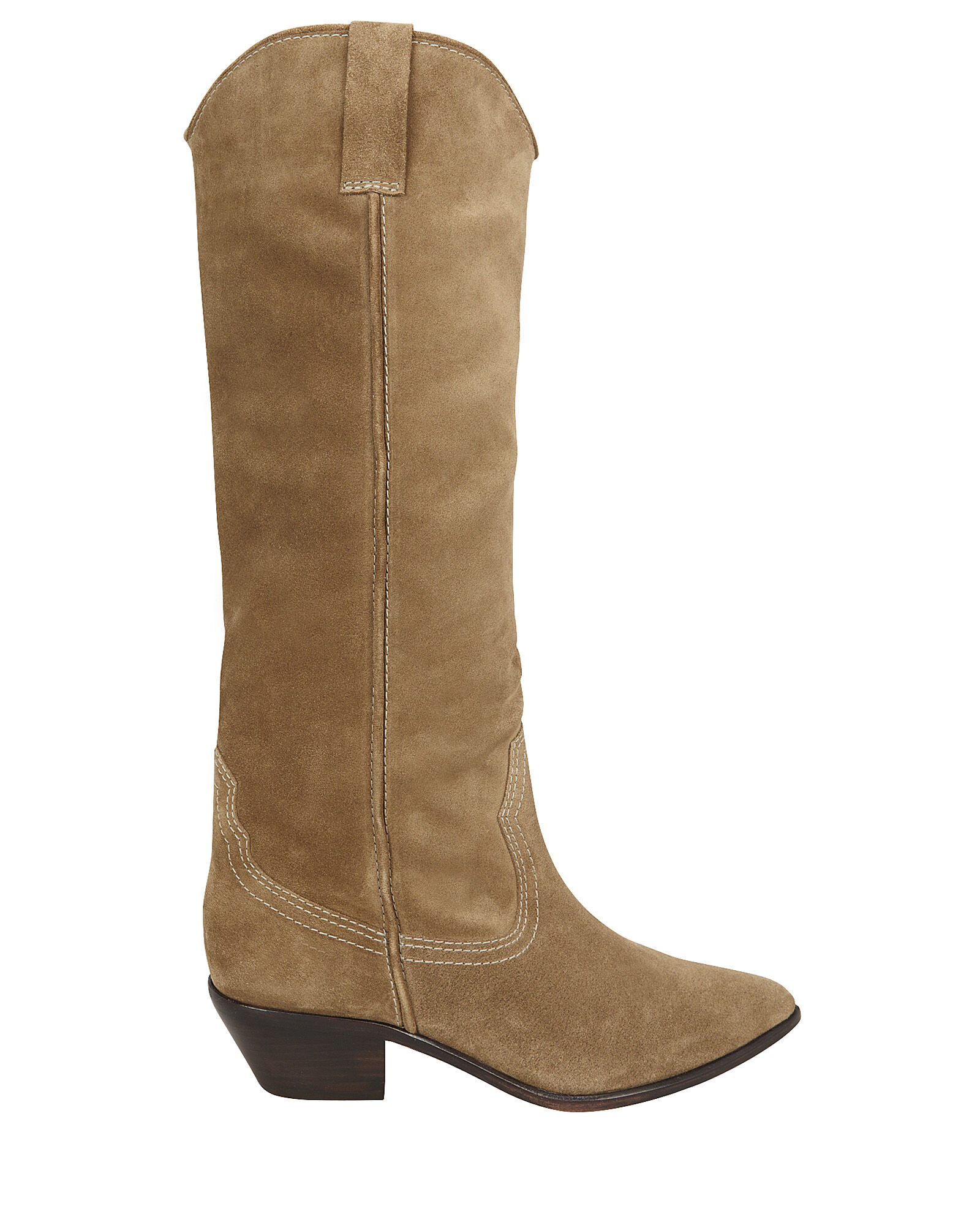 Dylan Western Knee-High Boots, TAN, hi-res