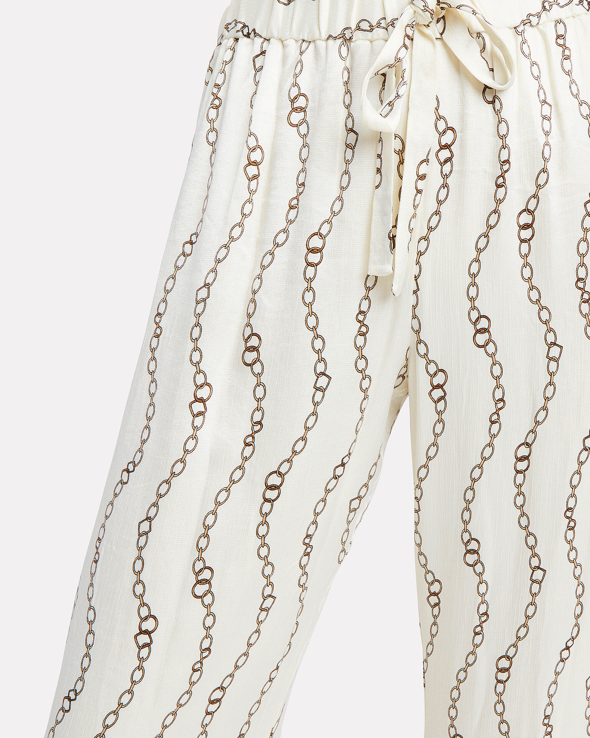 Aries Chain Print Pants, IVORY, hi-res