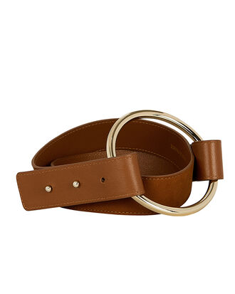 Havana Ring Belt, BROWN, hi-res