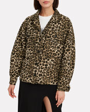 Flynn Leopard Jacket, MULTI, hi-res