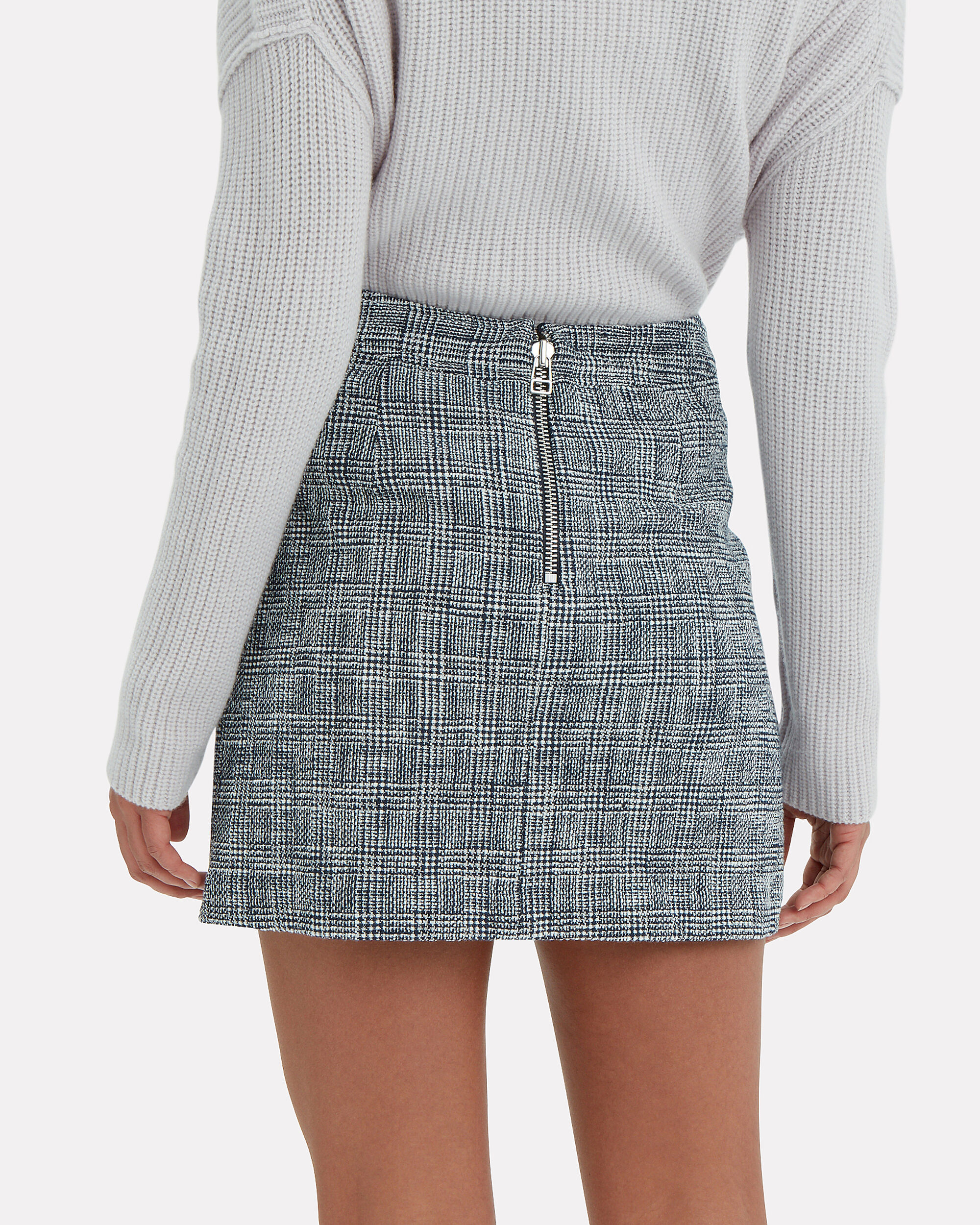Maida Mini Skirt, BLUE-LT, hi-res