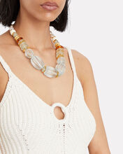 Villa Beaded Necklace, BLUE-LT, hi-res