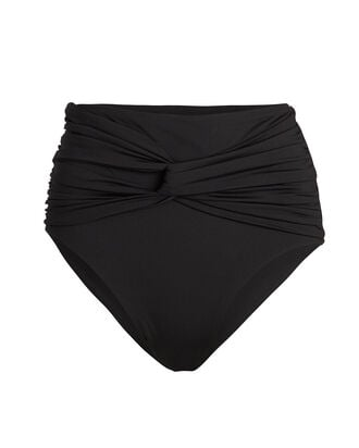 Penelope Knotted Bikini Bottoms, BLACK, hi-res