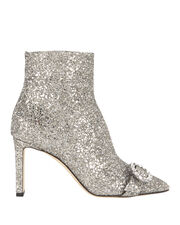 Hanover Glitter Booties, SILVER, hi-res