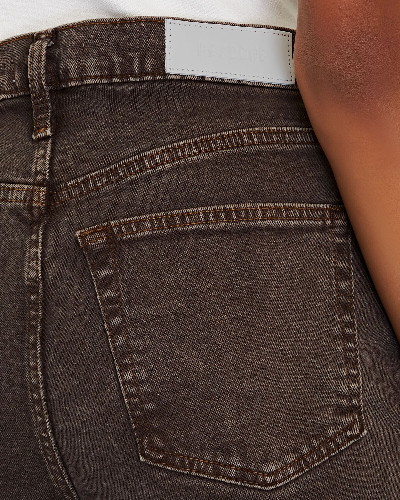 70s Ultra High-Rise Stove Pipe Jeans, WASHED CHOCOLATE, hi-res