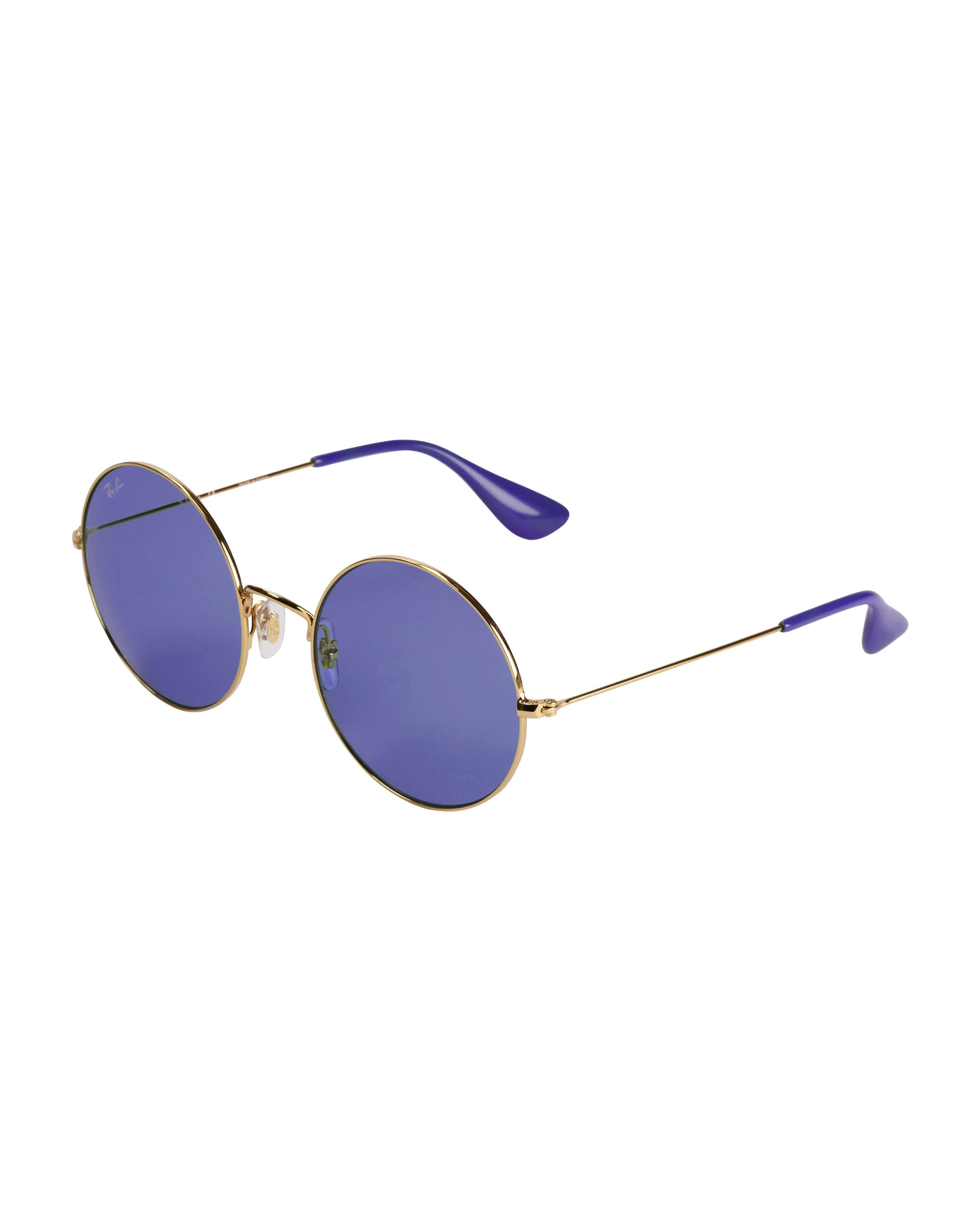 The Jajo Purple Round Sunglasses, PURPLE-DRK, hi-res