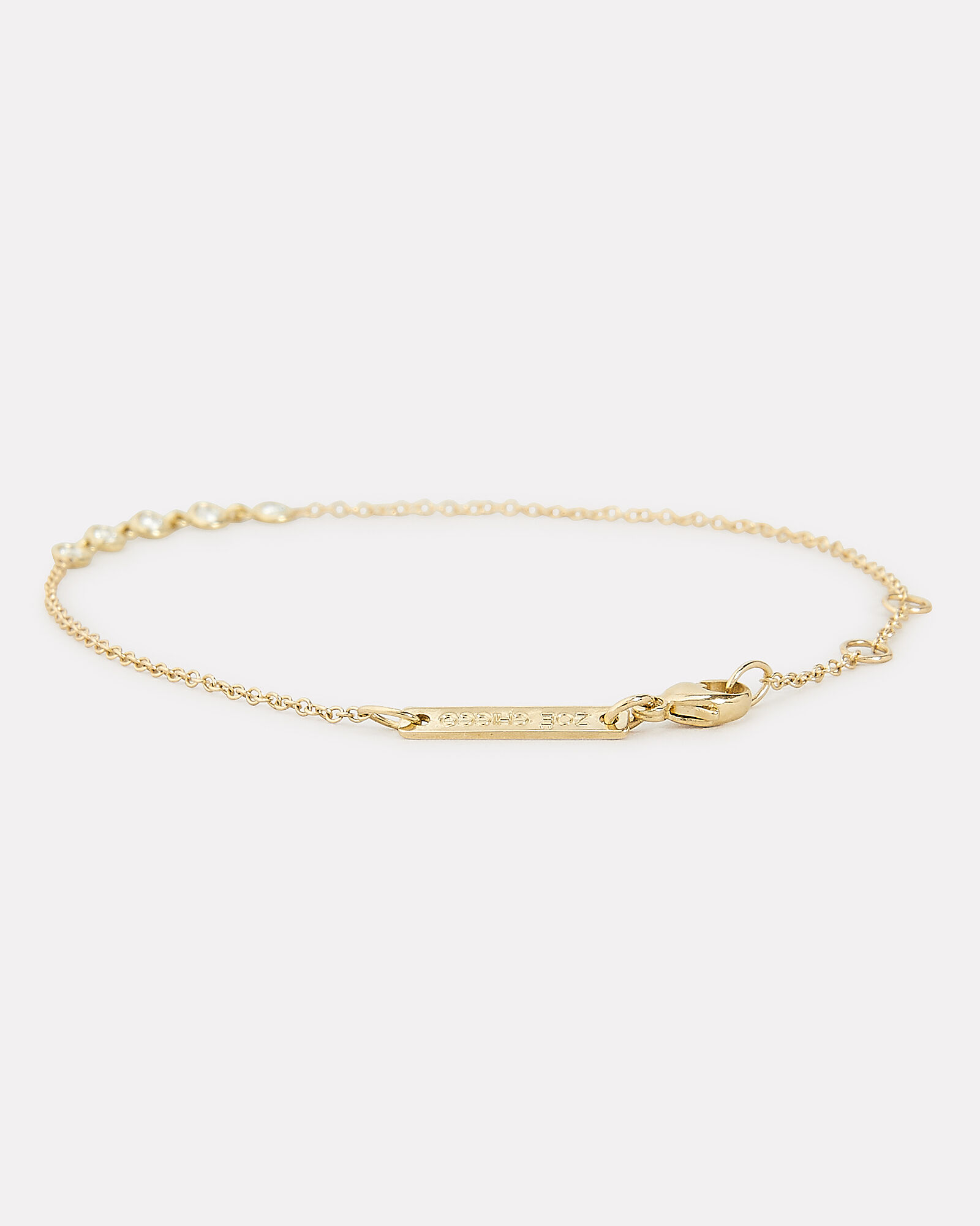 Diamond Tennis Bracelet, GOLD, hi-res