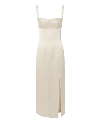 Yates Bustier Dress, SILVER, hi-res