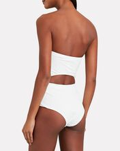 Riders Strapless One-Piece Swimsuit, IVORY, hi-res