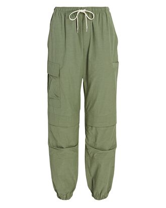 Himalayan Cotton-Blend Pants, OLIVE/ARMY, hi-res