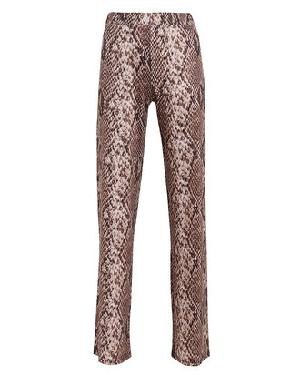 Pallas Snake Print Trousers, BEIGE/PYTHON, hi-res