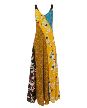 Paneled Slip Maxi Dress, MULTI, hi-res