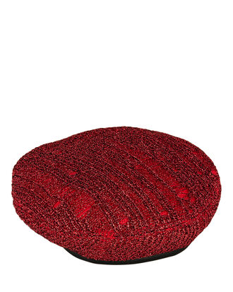 Cher Red Beret, RED, hi-res