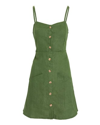 Beso Mini Dress, GREEN, hi-res