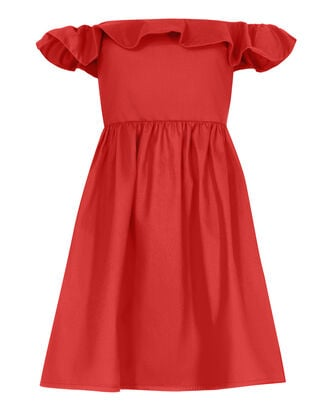 Novella Maria Mini Dress, RED, hi-res