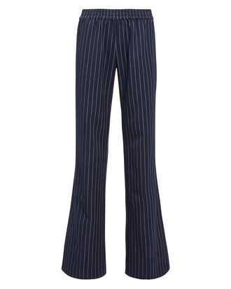Colette Striped Pants, NAVY/WHITE, hi-res