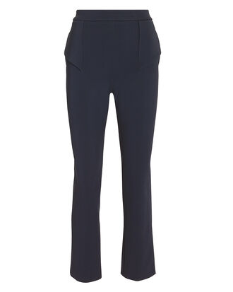 Julie Cropped Pants, NAVY, hi-res