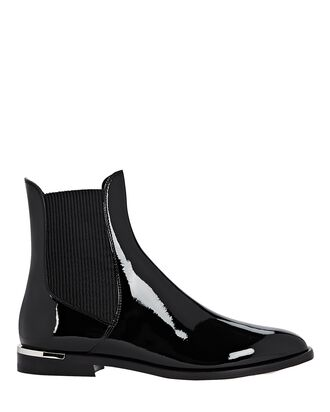 Rourke Leather Chelsea Boots, BLACK, hi-res