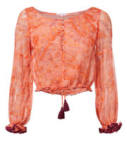 Bety Blouse, PINK, hi-res