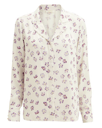 Kiara Floral Shirt, LIGHT FLORAL, hi-res