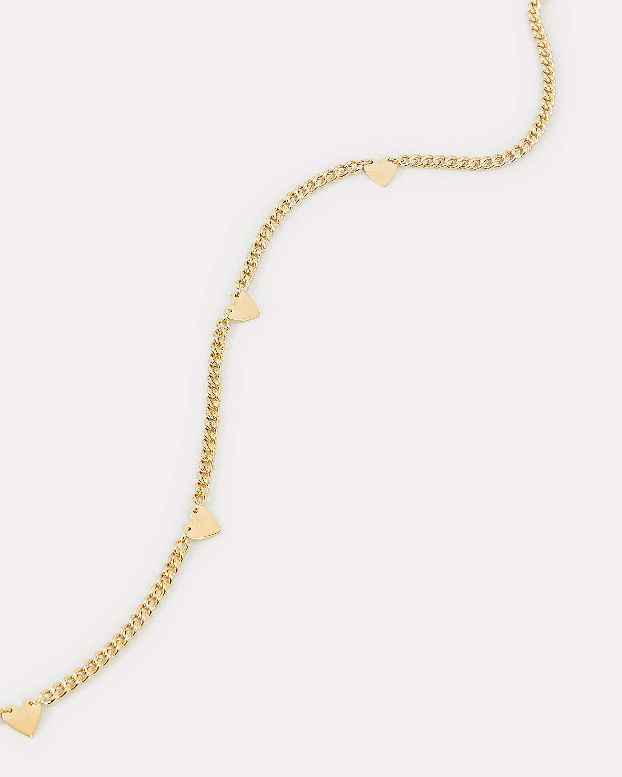Georgia Curb Necklace, GOLD, hi-res