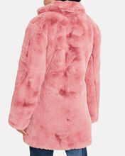 Sophie Faux Fur Coat, BLUSH, hi-res