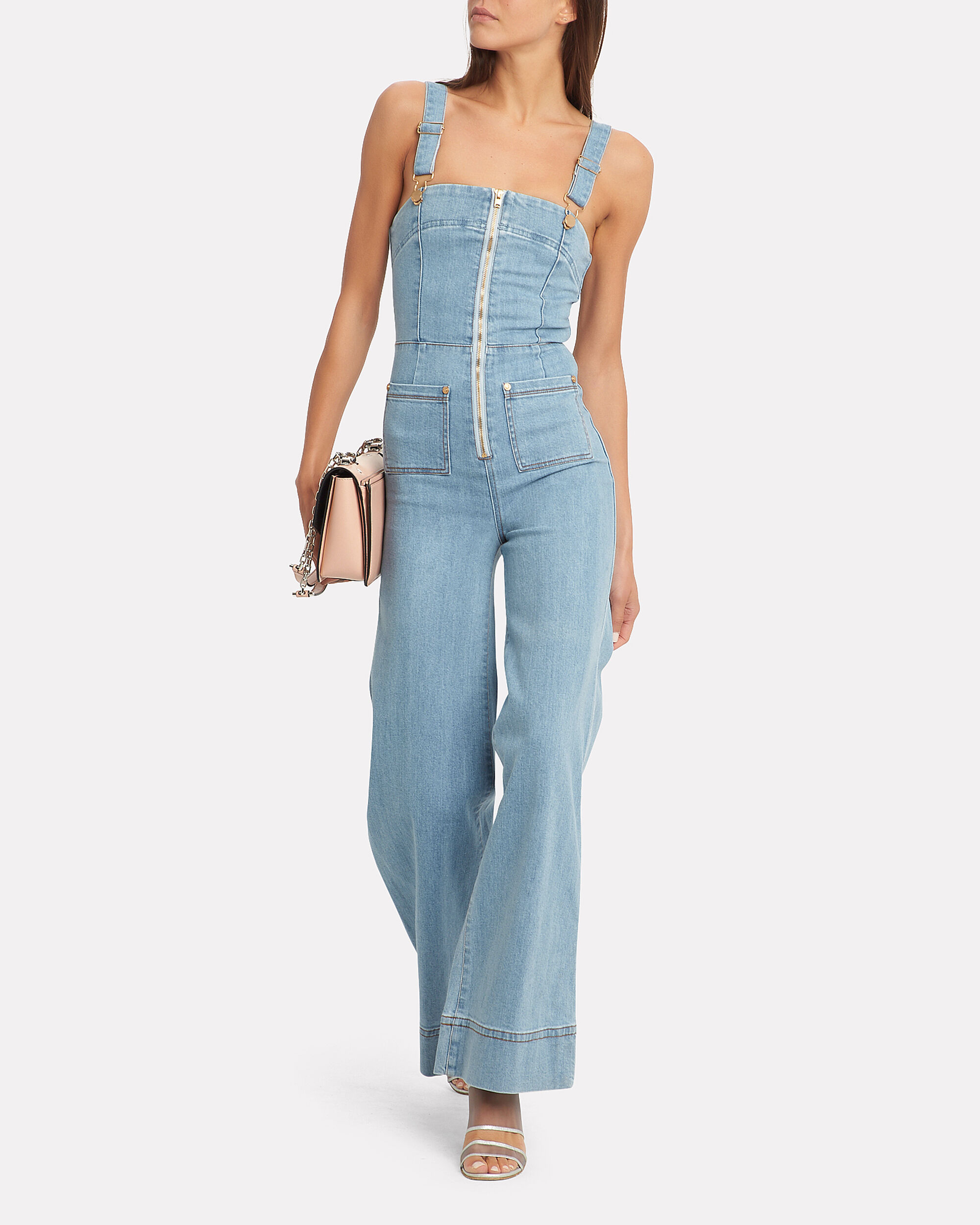 Quincy Overalls, LIGHT BLUE DENIM, hi-res