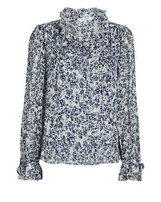 Cody Silk Floral Blouse, , hi-res