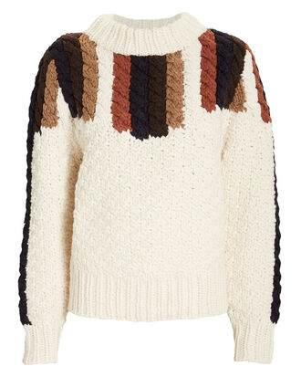 Aspen Knit Sweater, BEIGE, hi-res