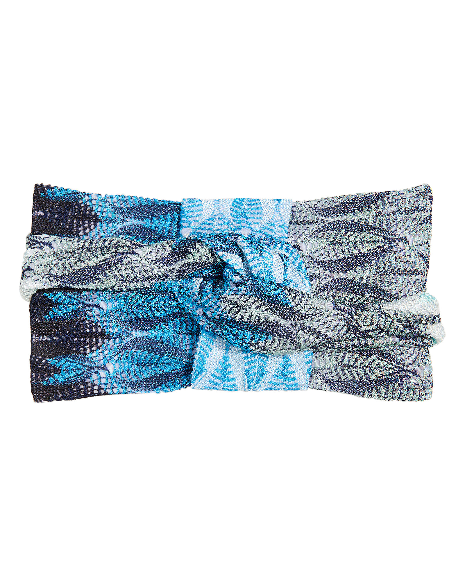 Allover Print Headband, MULTI, hi-res