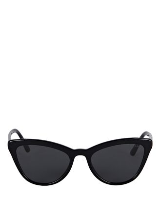 Ultravox Cat Eye Sunglasses, BLACK, hi-res