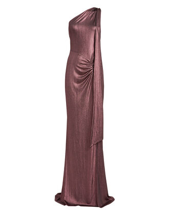 Attention Seeker One-Shoulder Gown, AMETHYST, hi-res