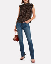 Polka Dot Georgette Top, MULTI, hi-res