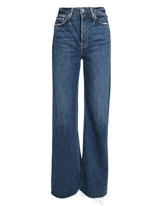 Carla Super High-Rise Bell Jeans, DARK BLUE DENIM, hi-res