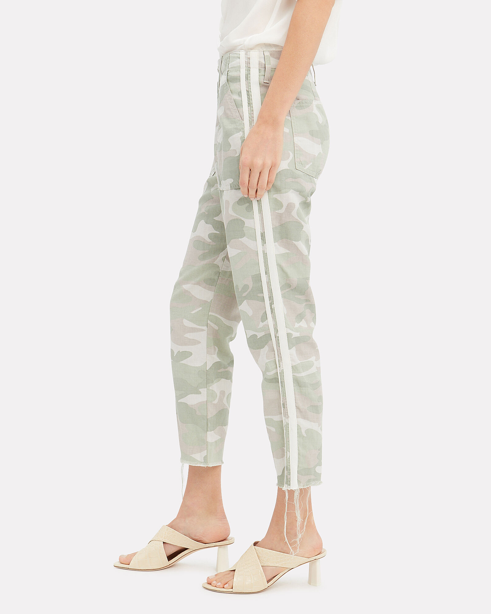 The Shaker Cropped Pants, CAMO, hi-res