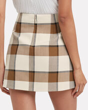 Dylan Plaid Skirt, MULTI, hi-res