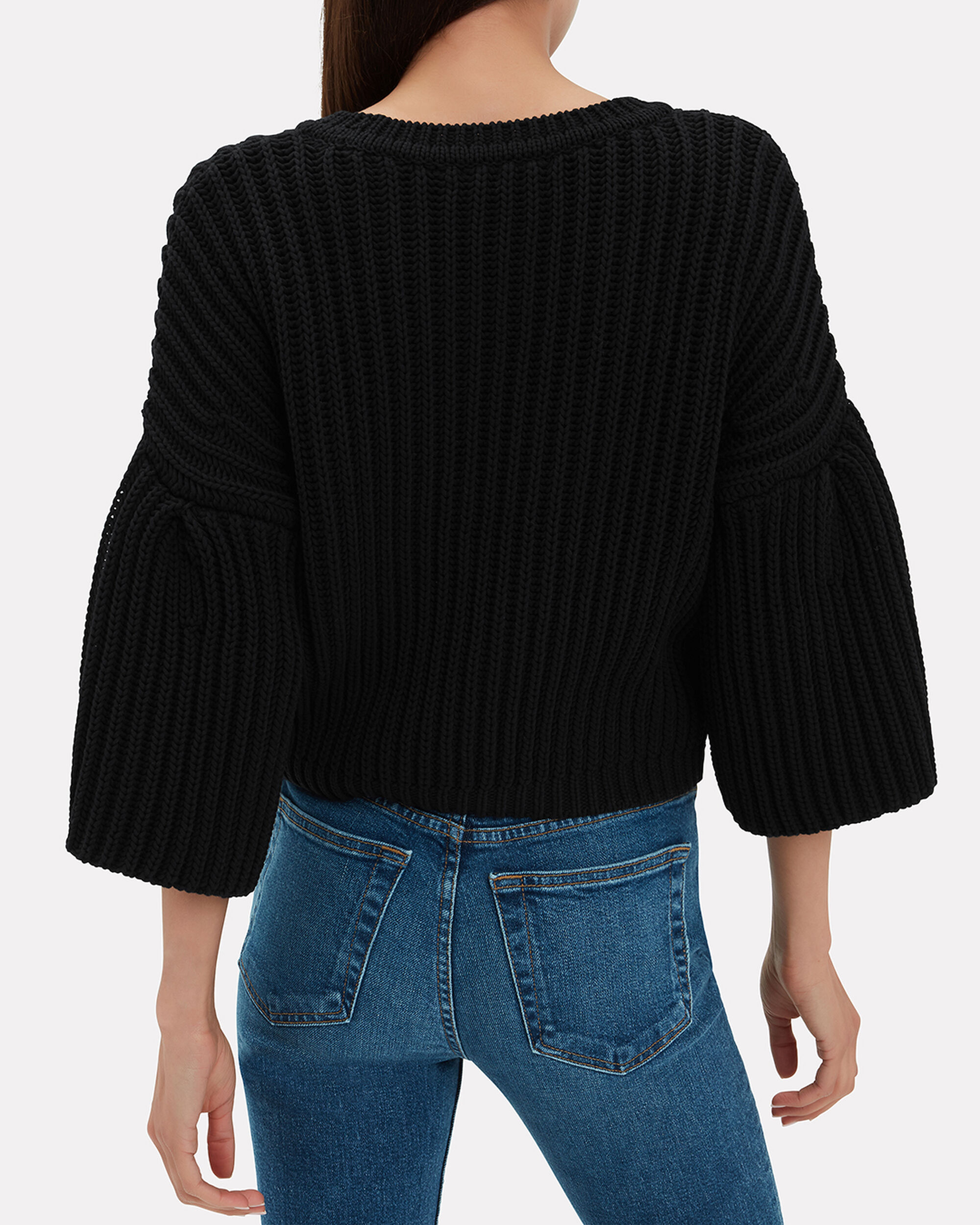 Portia Knit Top, BLACK, hi-res