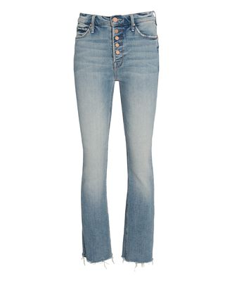 The Pixie Dazzler Ankle Fray Jeans, DENIM, hi-res