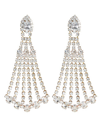 Shantay Crystal Chandelier Earrings, CLEAR, hi-res